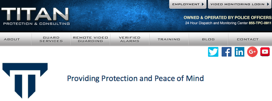Titan Protection and Consulting, Inc.